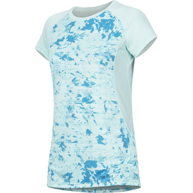 Marmot Crystal Camisa Manga Corta Mujer, blue tint mind game